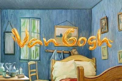 Van Gogh Mobile Slot Logo
