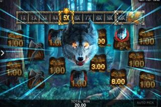 Wicked Tales Dark Red Mobile Slot Bonus Game