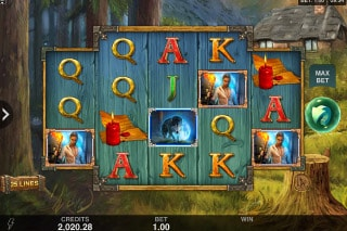 Wicked Tales Dark Red Mobile Slot Game