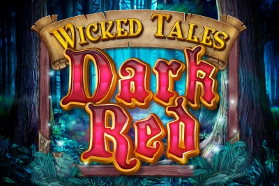 Wicked Tales Dark Red Mobile Slot Logo