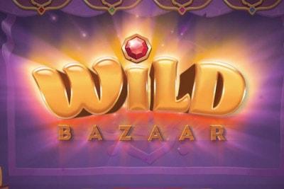 Wild Bazaar Mobile Slot Logo