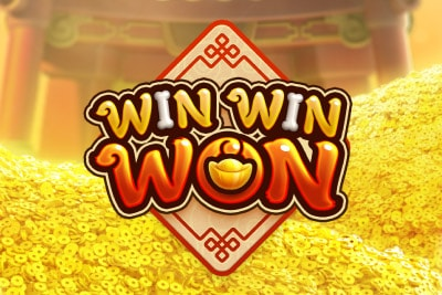 Win Win Won Mobile Slot Logo