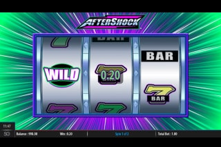 WMS Aftershock Slot Wild Feature