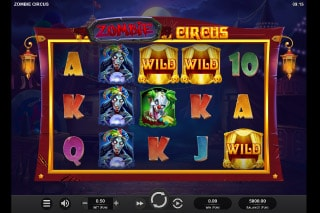 Zombie Circus Mobile Slot Machine