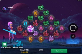 Astro Legends Mobile Slot Game