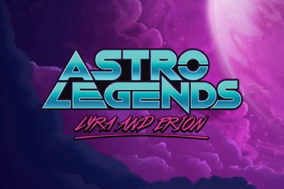 Astro Legends Mobile Slot Logo