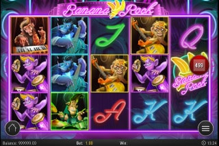Banana Rock Mobile Slot Machine