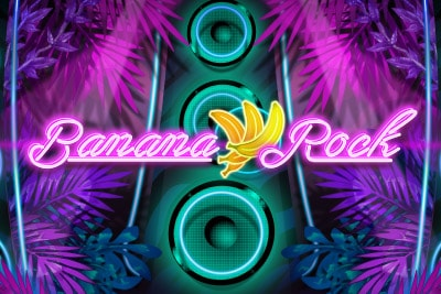 Banana Rock Mobile Slot Logo