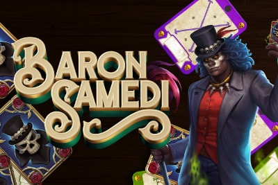 Baron Samedi Mobile Slot Logo