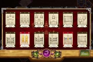 Baron Samedi Mobile Slot Tarot Cards