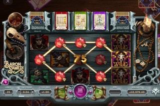 Baron Samedi Slot Bonus Wins