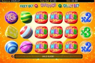 Crazy Pop Mobile Slot Bonus Game