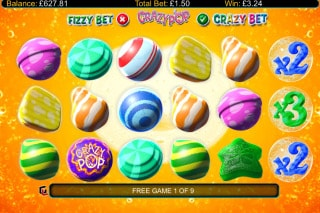Crazy Pop Slot Free Spins