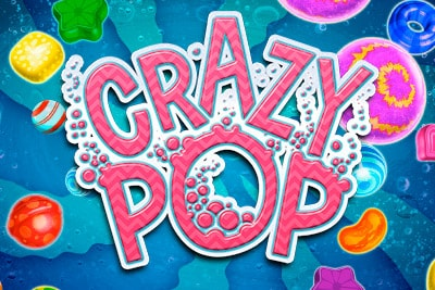 Crazy Pop Mobile Slot Logo