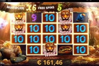 Dark Jungle Slot Free Spins Bonus