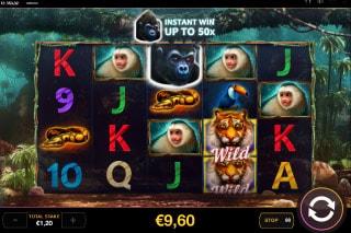 Dark Jungle Slot Instant Win Bonus
