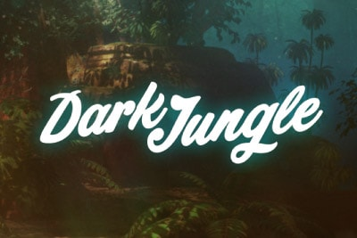 Dark Jungle Mobile Slot Logo
