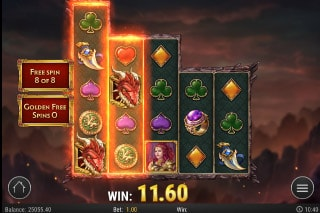 Dragon Maiden Mobile Slot Expanding Reels