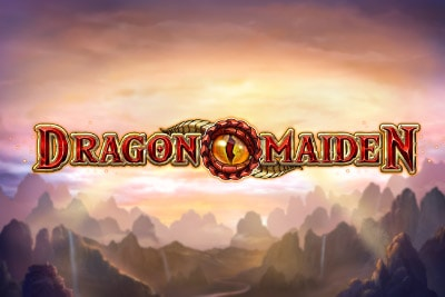 Dragon Maiden Mobile Slot Logo