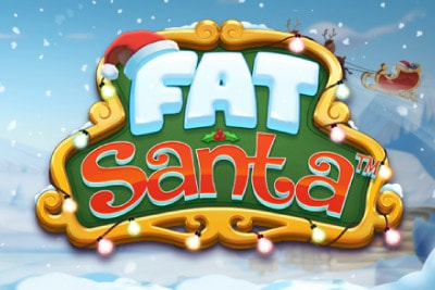 Fat Santa Mobile Slot Logo
