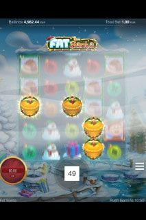 Fat Santa Mobile Slot With Random Wilds