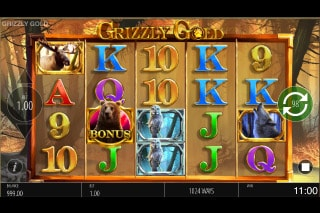 Grizzly Gold Mobile Slot Machine