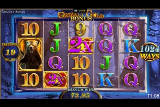 Grizzly Gold Mobile Slot Game