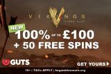 Get Your Guts Casino Bonus With Free Spins On First Deposit