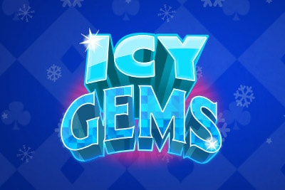 Icy Gems Mobile Slot Logo