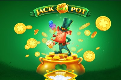 Jack In A Pot Mobile Slot Logo