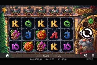 Jingle Spin Mobile Slot Game