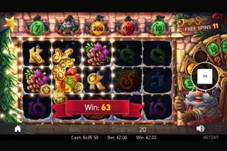 Jingle Spin Slot Free Spins Bonus