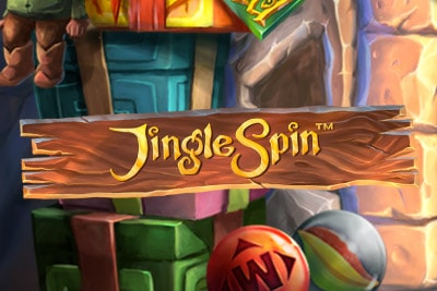 Jingle Spin Mobile Slot Logo