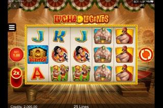Lucha Legends Mobile Slot Game
