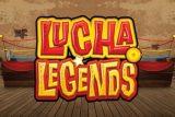 Lucha Legends Slot Logo