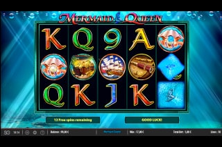 Mermaid Queen Mobile Slot Free Spins