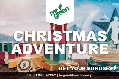Mr Green Christmas Adventure Full of Casino Bonuses
