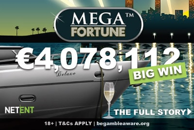German Player Wins NetEnt Mega Fortune Jackpot