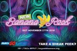 New Banana Rock Mobile Slot Game Coming November 2018
