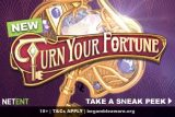 New NetEnt Turn Your Fortune Mobile Slot Coming Jan 2019