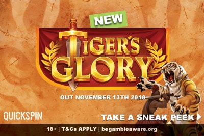 Quickspin Tigers Glory Mobile Slot Preview