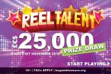 Reel Talent Slot Cash Prize Draw at Mr Green
