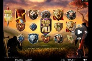 Shields Of The Wild Mobile Slot Machine