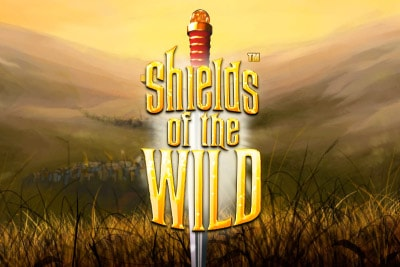 Shields Of The Wild Mobile Slot Logo
