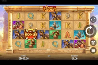 Tigers Glory Mobile Slot Game