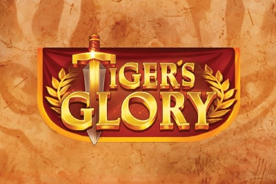 Tigers Glory Mobile Slot Logo
