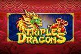 Triple Dragons Mobile Slot Logo