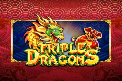 Triple Dragons Mobile Slot Logo