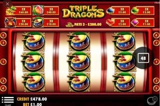 Triple Dragons Slot Win