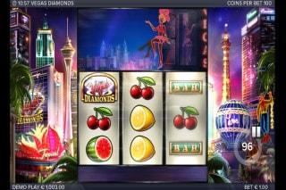 Vegas Diamonds Mobile Slot Machine